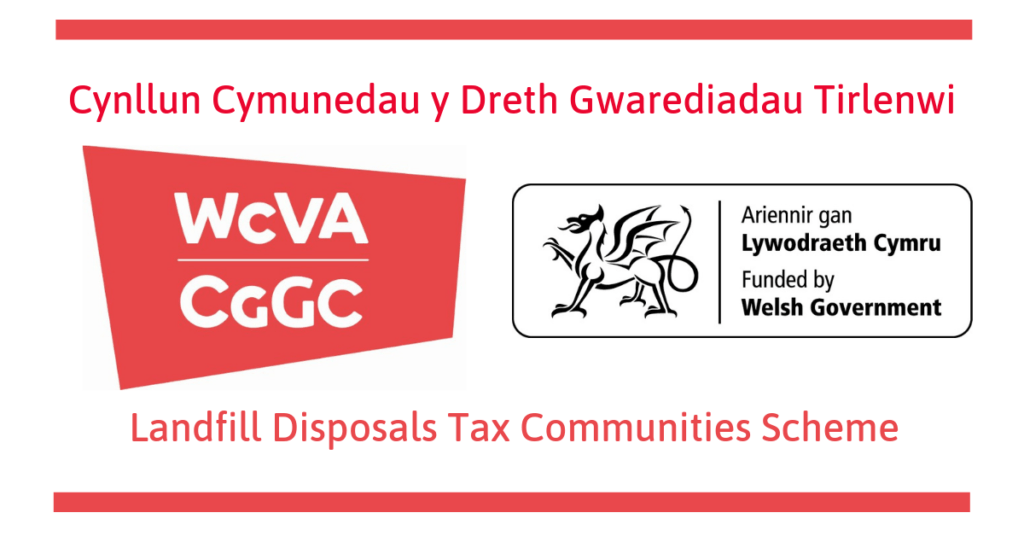The WCVA Landfill Disposals Tax Communities Scheme logo
